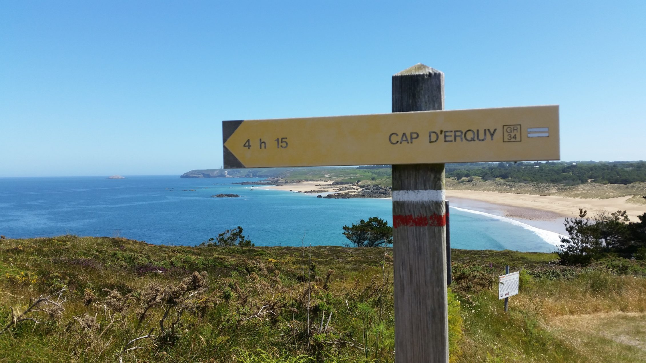 Randonnée à Kerléon chambres d'hôtes et gîte au Cap Fréhel