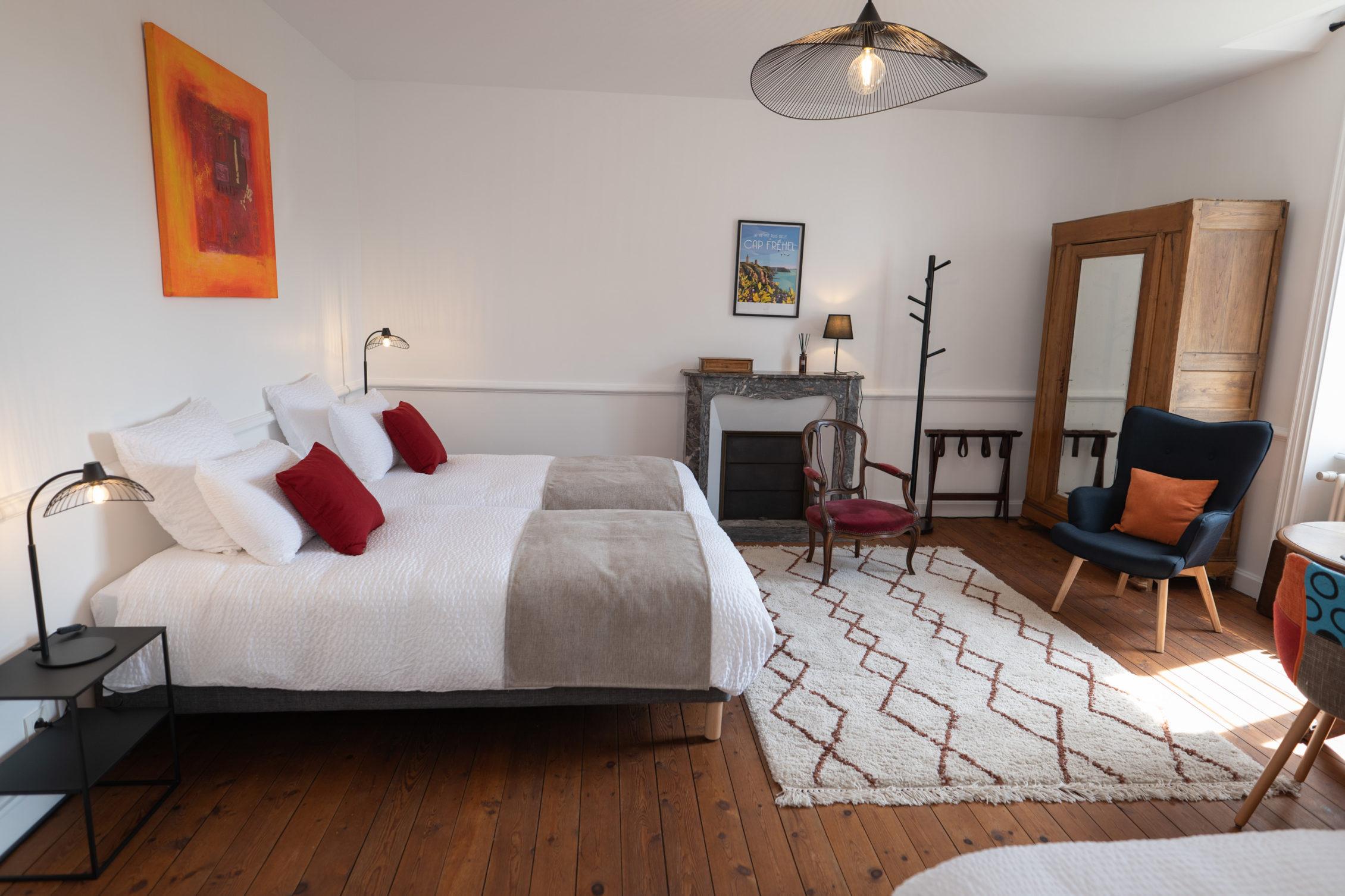 chambre Carpinus, Kerléon chambres d'hôtes et gîte au Cap Fréhel